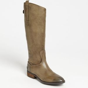 Sam Edelman Leather Penny riding boots in olive 8